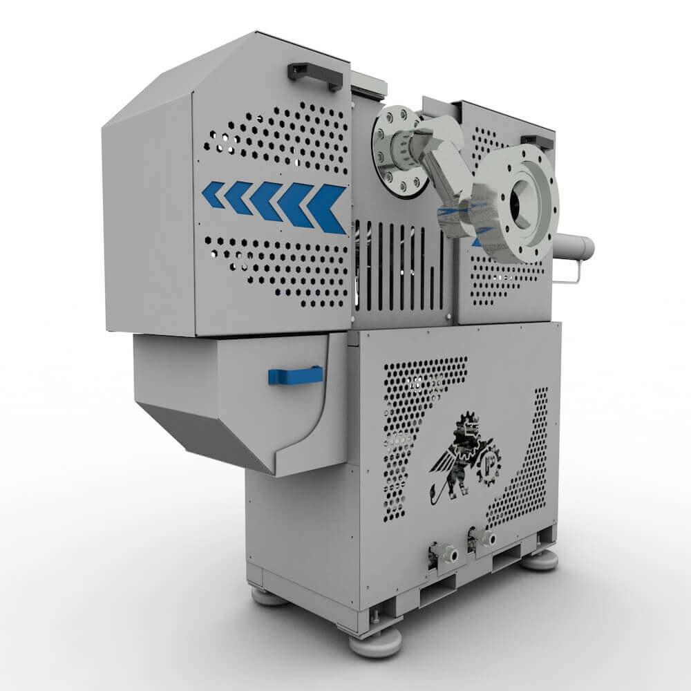 Безостановочный фильтр расплава NF-250