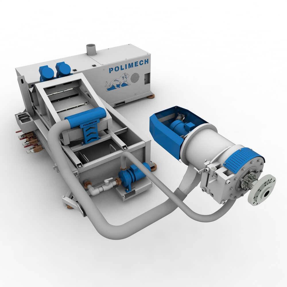 Горячая водокольцевая торцевая резка SL-TR-E