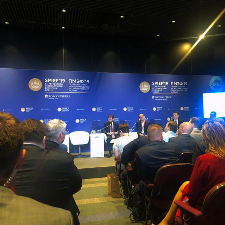 Компания Полимех приняла участие в петербургском международном экономическом форуме.