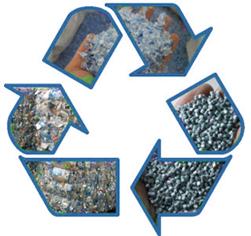Вторичная переработка пластиковых отходов